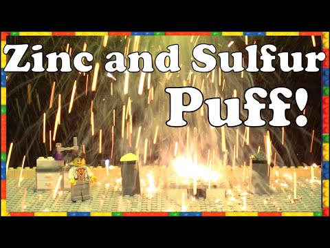 Zinc and Sulfur Puff – Chemical Reaction – Make Science Fun