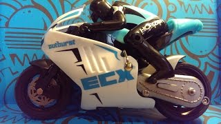 Unboxing the ECX Outburst 1/14 Scale RTR Motorcycle