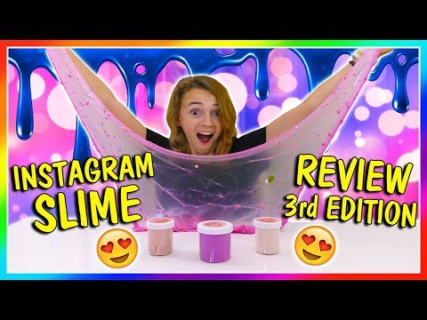 KAYLA'S INSTAGRAM SLIME REVIEW | EDITION 3 | We Are The Davises