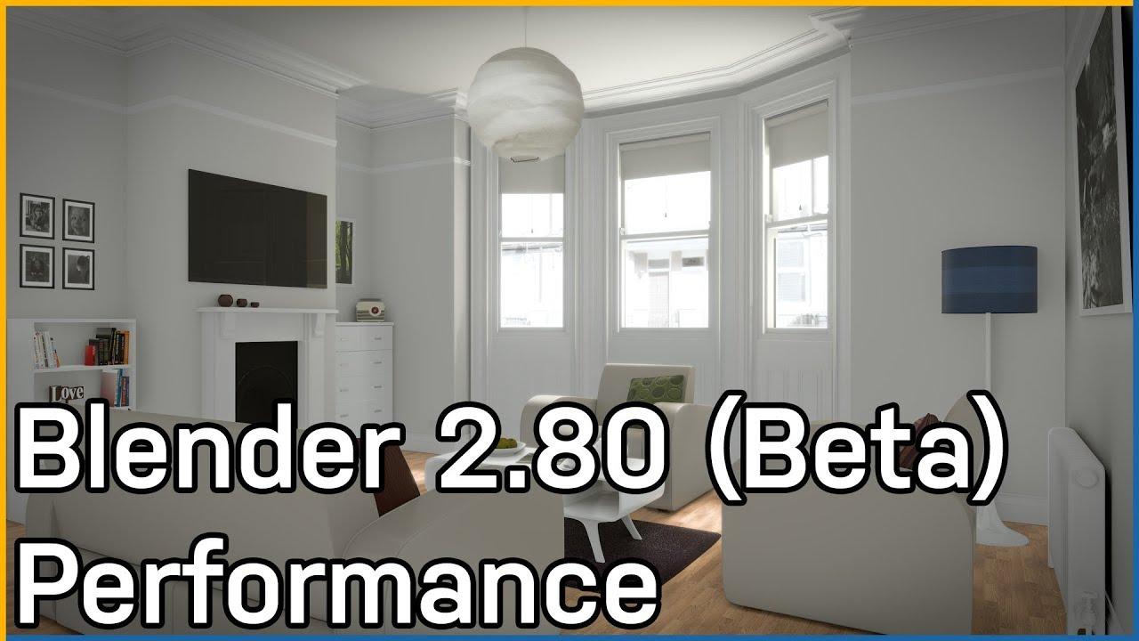 Blender 2.8 Viewport & Rendering Performance