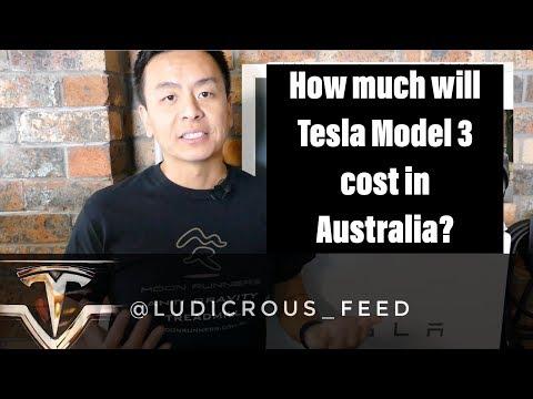 Tesla Model 3 - How Much Will It Cost In Australia?