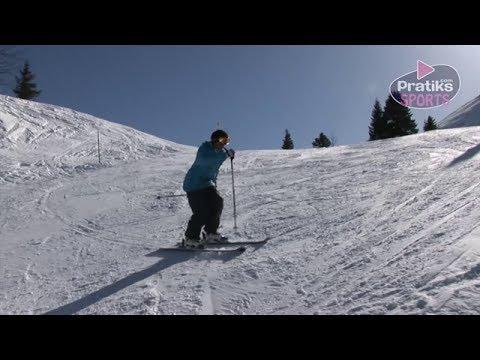 Ski - Comment faire un virage parallèle - Initiation
