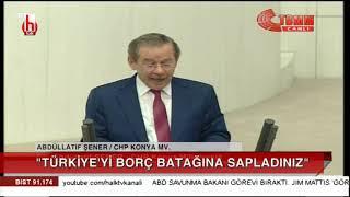 Abdüllatif Şener Meclis'te konuştu AKP'liler isyan etti