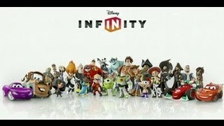 Unboxing Disney Infinity Starter Pack for Wii U