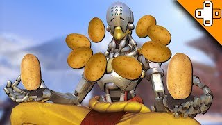 PASS INTO THE POTATO - Overwatch Funny & Epic Moments 576