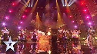 Khusugtun's Throat Singing Gets Standing Ovation | Asia's Got Talent Grand Final 1