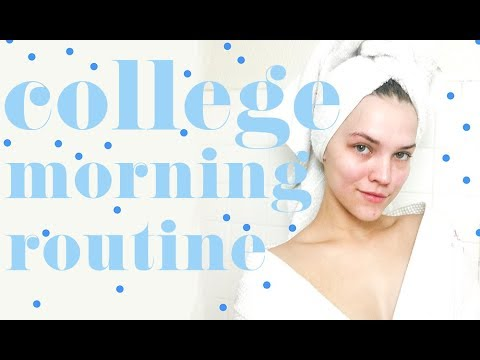 College Morning Routine Video