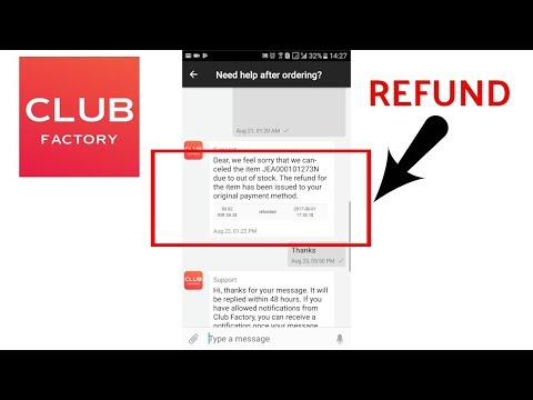 193df7bdab14 How to contact club factory for refund or any problem | step by step  process | club factory review - YouTube