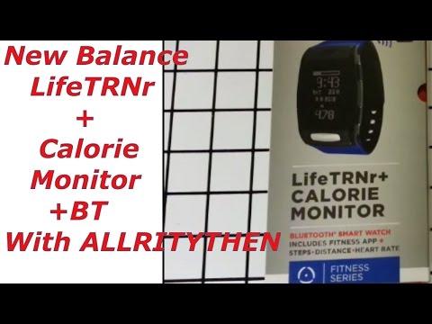 New Balance LifeTRNr+Calorie Monitor +BT - YouTube