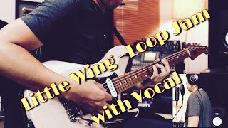 Little Wing - Loop Jam with my new Yamaha Pacifica USA Custom …