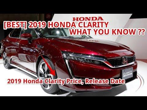 Best 2019 Honda Clarity Price Release Date