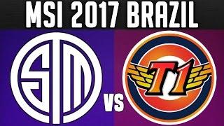 TSM vs SKT - MSI 2017 Day 4 - 2017 Mid Season Invitational Group Stage Day 4   LoL Esports