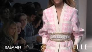 Balmain, весна лето 2014  Неделя моды в Париже SS14(, 2013-11-03T18:30:30.000Z)