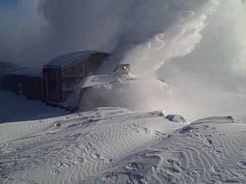 BNSF Snow Blower in Aurora, NE