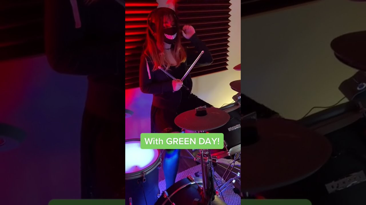Watch me ELECTRIFY GREEN DAY! #shorts