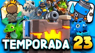 ¡NUEVOS EMOTES DE MORTERO! | TODO SOBRE LA SEASON 23 DE CLASH ROYALE | SNEAK PEEK
