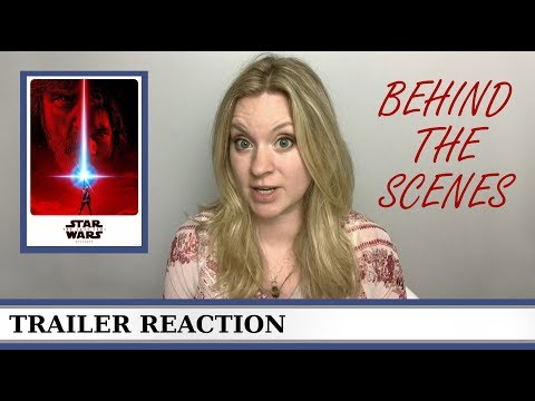 Star Wars The Last Jedi Behind the Scenes - REACTION & REVIEW