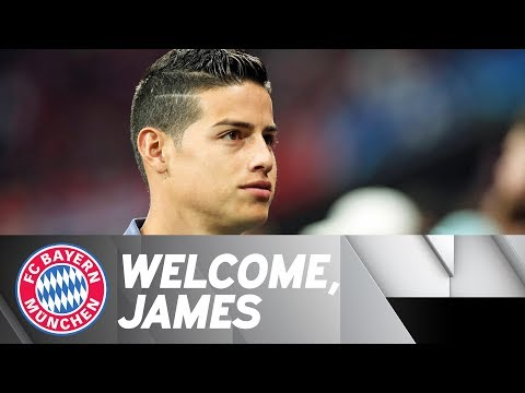 CONFIRMED! James joins Bayern from Real