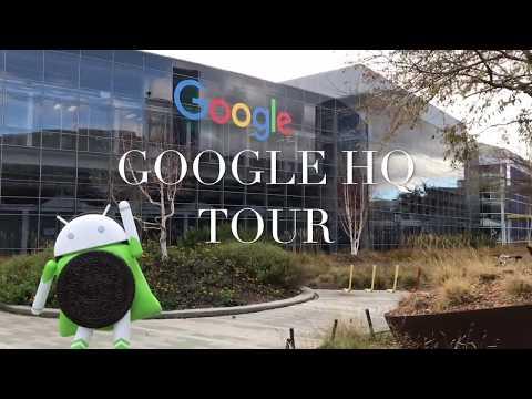 Google HQ Tour (Bay Area)