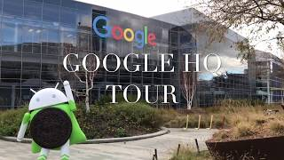 Google HQ Tour (Bay Area)