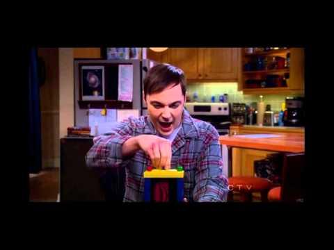 Sheldon Cooper and Mini Spock