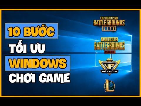 Tối Ưu Windows Như Thế Nào Để Chơi Game Hiệu Quả Nhất ?