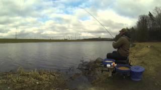 Ловля уклейки на фидер. Bleak feeder fishing.
