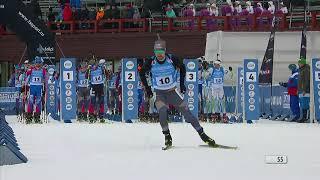 Биатлон Чемпионат России 2021 Гонка преследования Мужчины