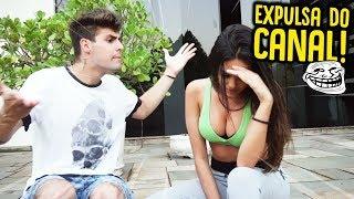 EXPULSEI MINHA AMIGA DO CANAL !! - TROLLANDO MINHA AMIGA [ REZENDE EVIL ]