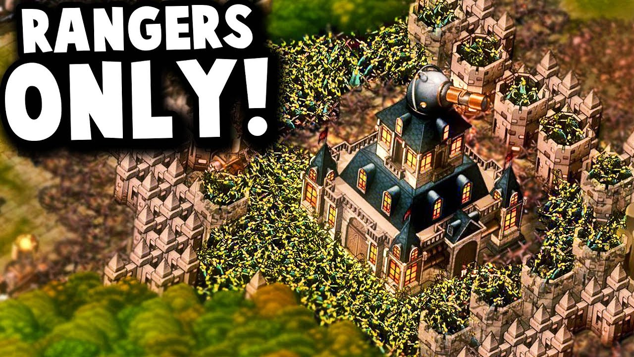 Ultimate Challenge: RANGERS ONLY Achievement! | They Are Billions Modded Mayor Gameplay