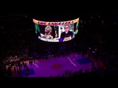 Los Angeles Lakers Tribute to Kobe Bryant