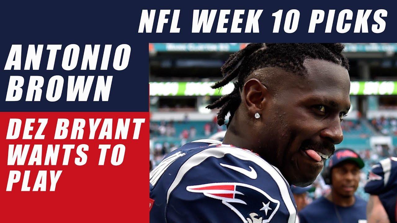 Antonio Brown Tweets Dez Bryant Wants To Play Nfl Week 10
