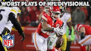 getlinkyoutube.com-Worst Plays of the Divisional Playoff Round | NFL Highlights