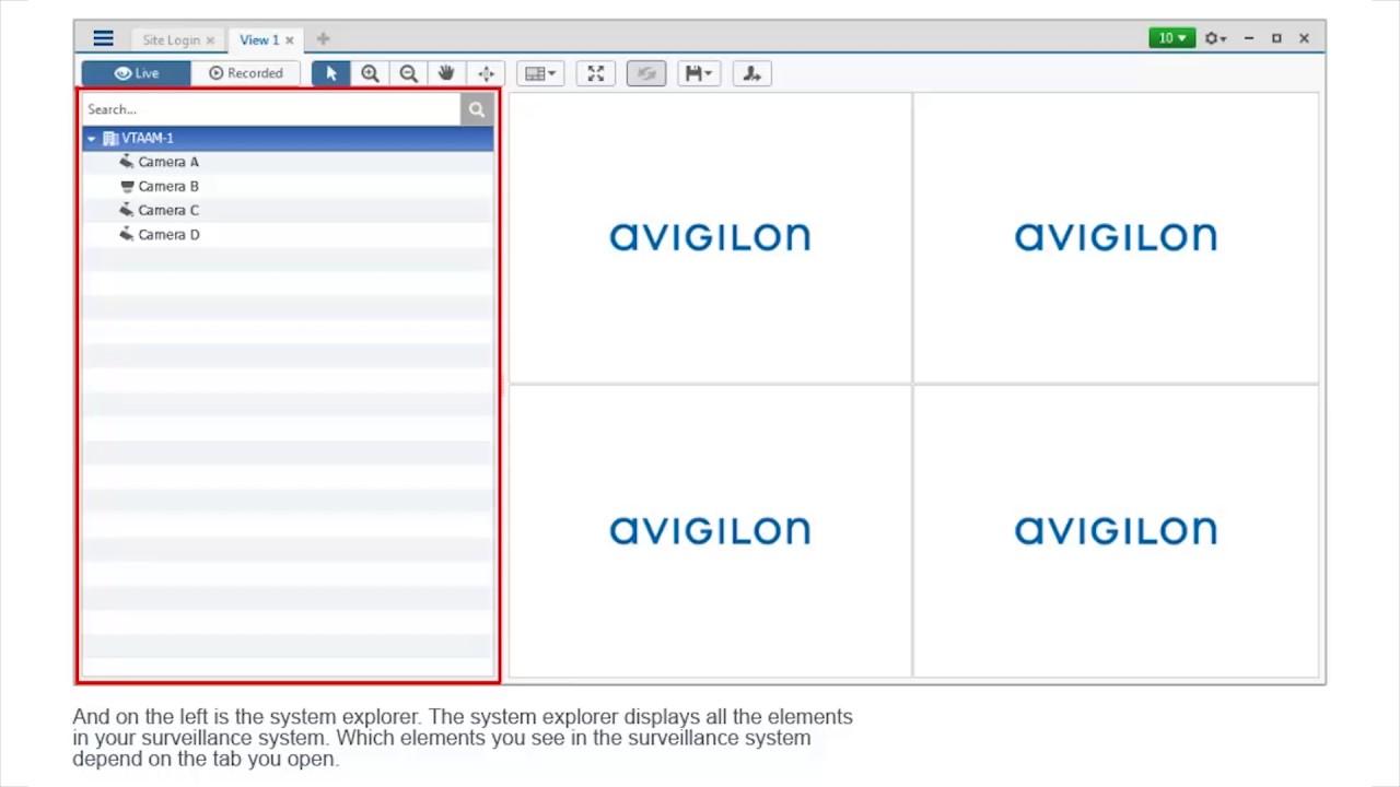 Avigilon Control Center (ACC 6) - Getting Started