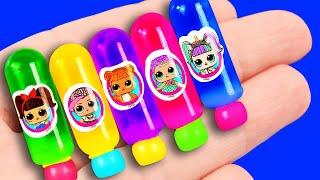 50 DIY Barbie Hacks: Barbie phone, makeup and more!