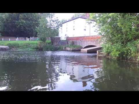 Drone Flight Over River Bure, Buxton Mill, Norfolk