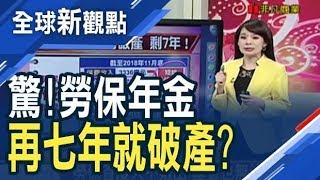 勞保七年後破產! 勞工退休領嘸錢?/全球新觀點20190129
