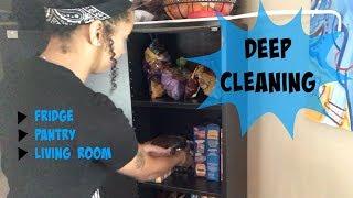 DEEP CLEAN MOTIVATION: FRIDGE|PANTRY|LIVING ROOM