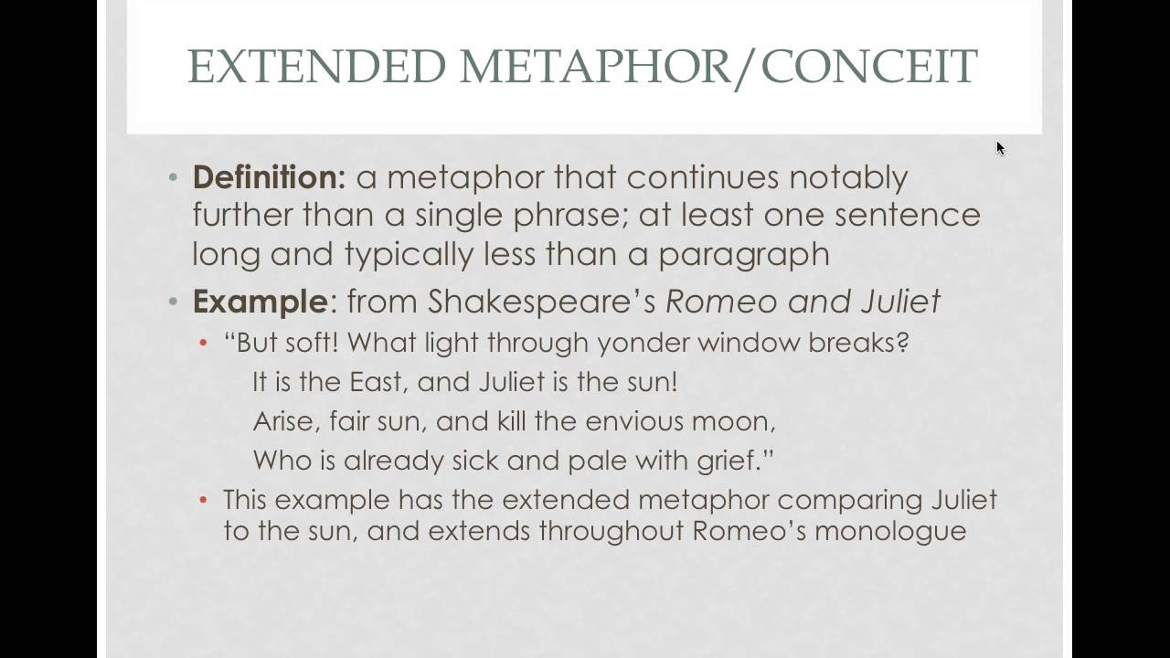 Types Of Metaphors Youtube