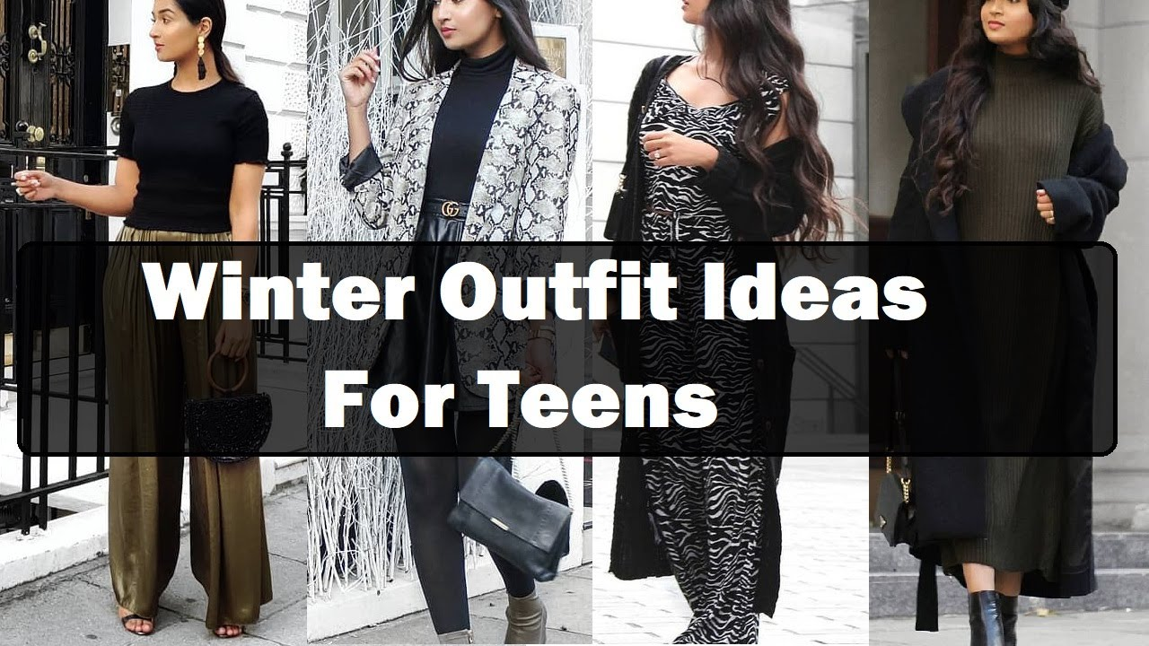 Winter outfits for teenage girl 20