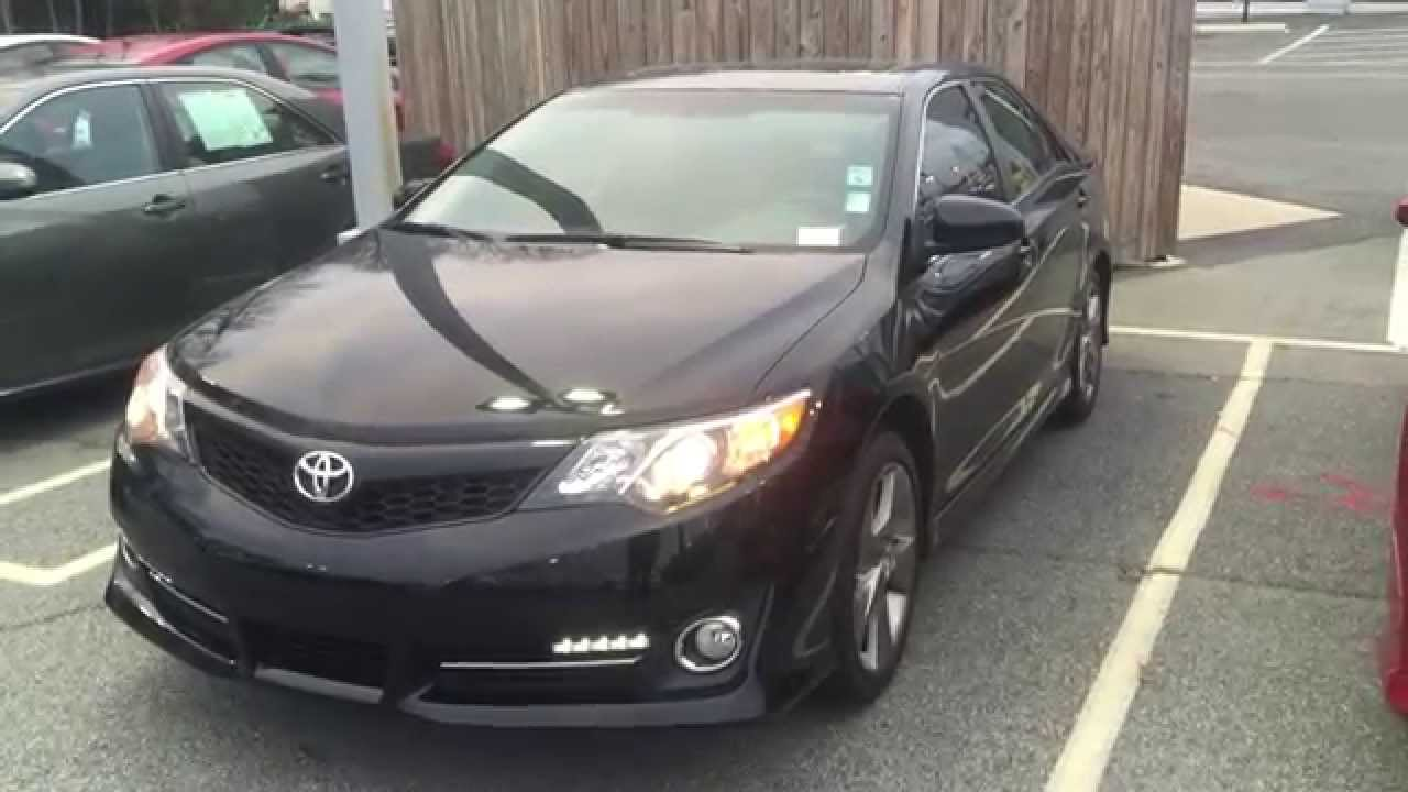 Certified 2012 Toyota Camry SE V6 At Rice Toyota   Greensboro NC