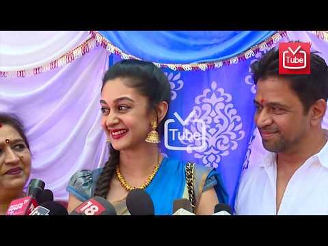 Chiranjeevi Sarja-Meghana Raj Engagement: Arjun Sarja's