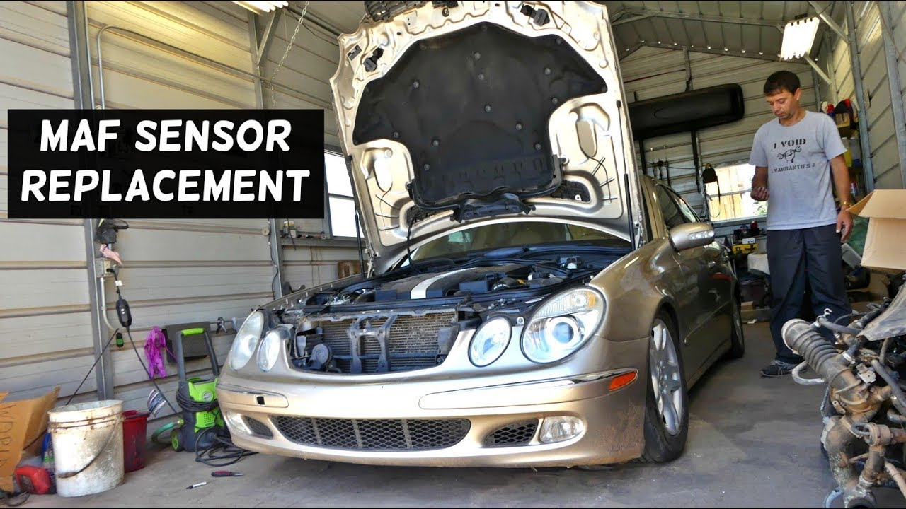 ▷ How To Video - HOW TO REMOVE AND REPLACE THE MAF SENSOR ON