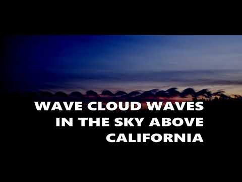 Cloud Waves In The Sky Above California October 31, 2018