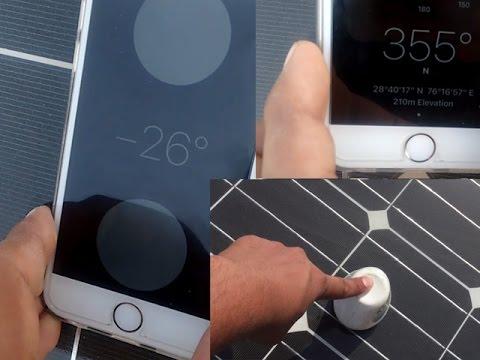calculate solar tilt angle and direction using mobile and desi jugaad