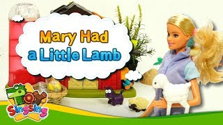 Mary Had a Little Lamb  - Nursery rhymes - Singsing Story