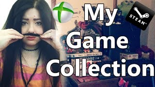 My game Collection, well, half (XBOX and Steam) - Stream Highlight