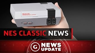Nintendo Talks NES Classic Edition Discontinuation - GS News Update