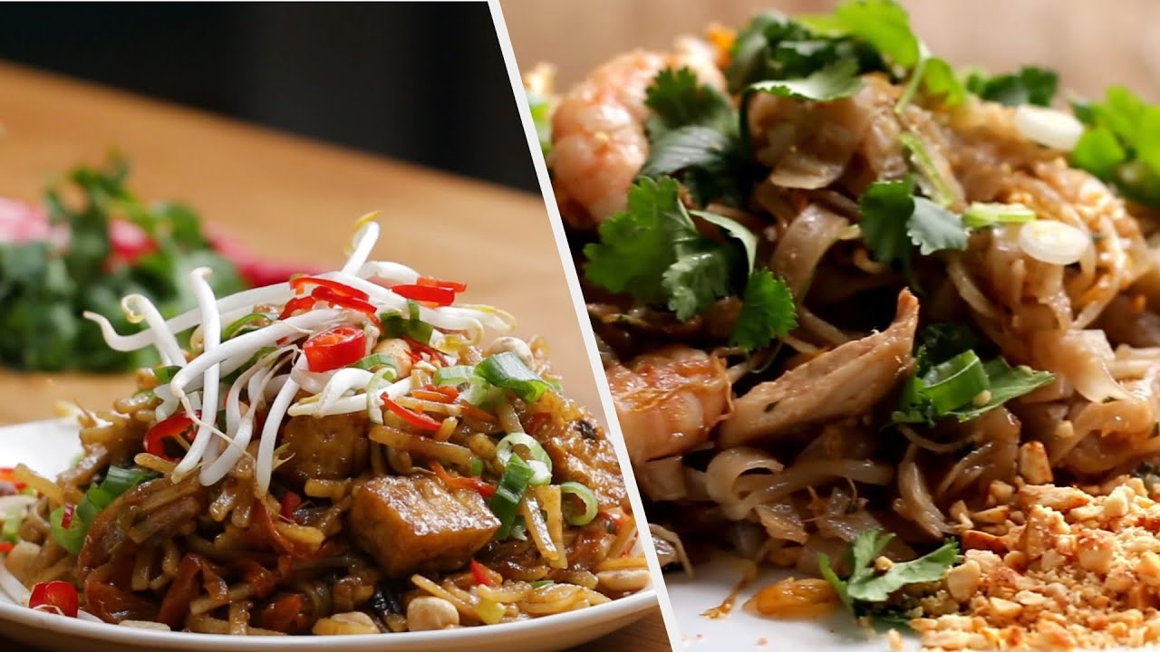 5 Delicious Pad Thai Inspired Dishes • Tasty
