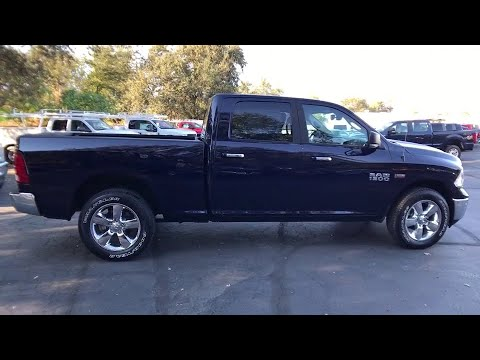 2018 RAM 1500 Redding, Eureka, Red Bluff, Northern California, Sacramento, CA 18D024